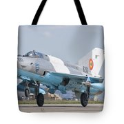 A Romanian Air Force Mig-21c Taking Tote Bag