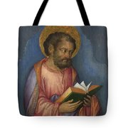 A Saint With A Book Tote Bag