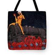 A Surrealist Lady Chatterley Tote Bag