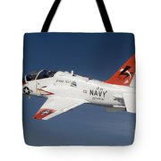 A T-45c Goshawk Training Aircraft Tote Bag