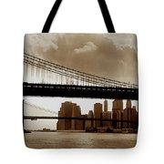 A Tale Of Two Bridges Tote Bag by Joann Vitali