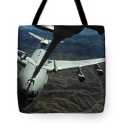 A U.s. Air Force E-3 Sentry Aircraft Tote Bag by Stocktrek Images