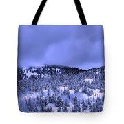 A Utah Winter Tote Bag