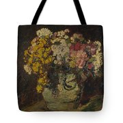 A Vase Of Wild Flowers Tote Bag
