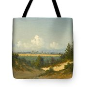 A View Of Tallinn From Nomme Tote Bag