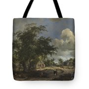 A View On A High Road Tote Bag