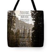 A Walk Among The Trees Tote Bag