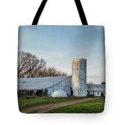 Abandoned Countryside Farm In The Afternoon Tote Bag
