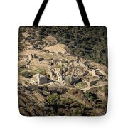 Abandoned Village Of Occi And The Coast Of Corsica Tote Bag