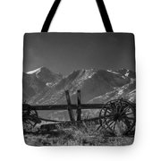 Abandoned Wagon In The High Sierra Nevada Mountains Tote Bag