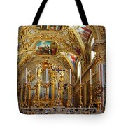 Abbey Of Montecassino Altar Tote Bag