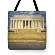 Abraham Lincoln Memorial  Tote Bag