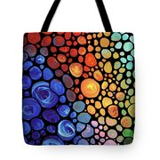 Abstract 1 Tote Bag by Sharon Cummings