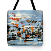 Abstract Art Project #25 Tote Bag