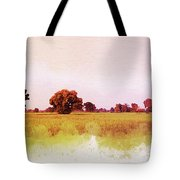 Abstract Beautiful Tree And Landscape For Background. Tote Bag