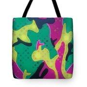 Abstract Camo Tote Bag