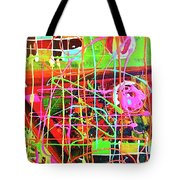 Abstract Colorful Tote Bag
