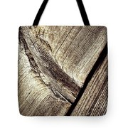 Abstract Detail Of A Wooden Old Board Tote Bag