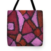 Abstract In Pink Tote Bag