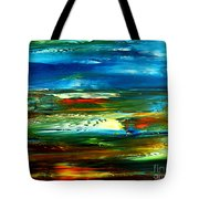 Abstract Landscape Tote Bag