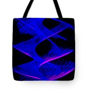 Abstract Light Trails Tote Bag