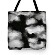 Abstract Monochome 159 Tote Bag