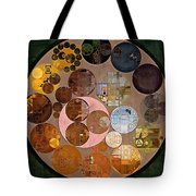 Abstract Painting - Calico Tote Bag