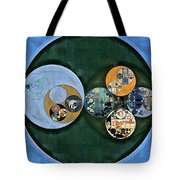 Abstract Painting - Cardin Green Tote Bag