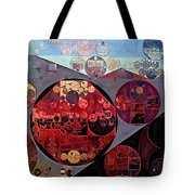 Abstract Painting - Seller Pomegranate Tote Bag