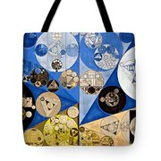 Abstract Painting - Nero Tote Bag