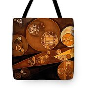 Abstract Painting - Pale Gold Tote Bag