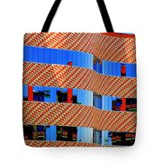 Abstract Reflections In Glass Tucson Arizona Tote Bag