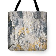 Abstract Texture Old Plaster Tote Bag