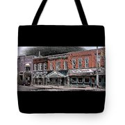 Abstract Town Tote Bag