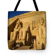 Abu Simbel Tote Bag