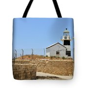 Acre, The Lighthouse  Tote Bag