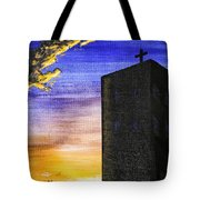 Adobe Church Tote Bag