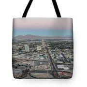 Aerial View Of Las Vegas City Tote Bag