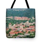 Aerial View Of The Beautiful University Of Colorado Boulder Tote Bag