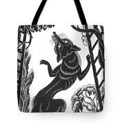 Aesop: Fox & Grapes Tote Bag