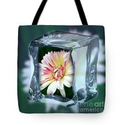 African Daisy Cube Tote Bag