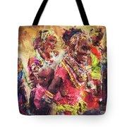 African Woman Tote Bag