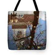 After The Rain In Boston Tote Bag