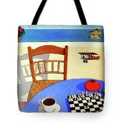 Afternoon Distractions Tote Bag