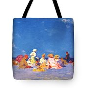 afternoon fun Edward Henry Potthast Tote Bag