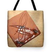 Agony - Tile Tote Bag