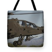 Ah-64d Apache Longbow Lifts Tote Bag