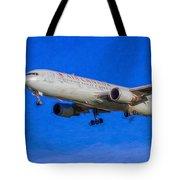Air Canada Boeing 767 Art Tote Bag