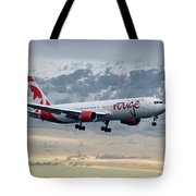 Air Canada Rouge Boeing 767-333 Tote Bag