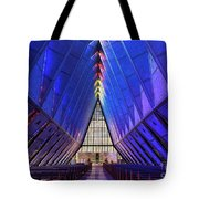 Air Force Academy Cadet Chapel Tote Bag